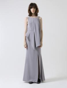 Gray Perpetual Long Dress