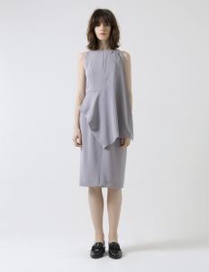 Gray Perpetual Short Dress