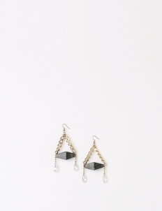 Dark Marble Tuscanny Earrings