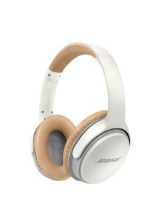 White Bose Bluetooth Headphone Soundlink Around Ear