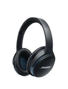 Black Bose Bluetooth Headphone Soundlink Around Ear