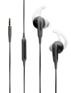 Black Bose SoundSport In-Ear Headphones for Apple Devices