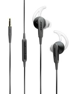 Black Bose SoundSport In-Ear Headphones for Apple Devices