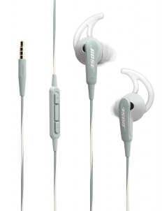 Gray Bose SoundSport In-Ear Headphones for Apple Devices