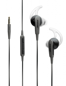 Black Gray Bose SoundSport In-Ear Headphones for Samsung Devices