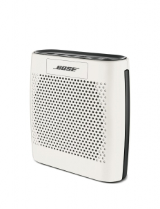 White Bose Soundlink Color Bluetooth Speaker
