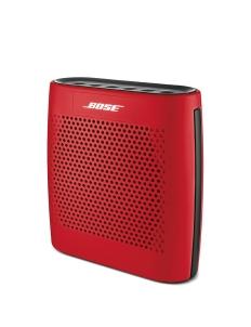 Red Bose Soundlink Color Bluetooth Speaker