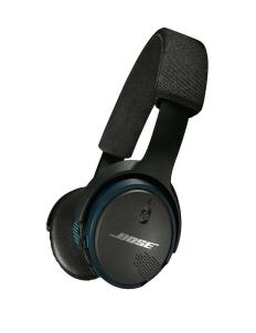 Black and Blue Bose Soundlink On Ear