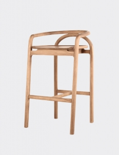 Wooden Naka Stool Chair