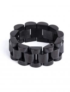 Black Noir Band Ring