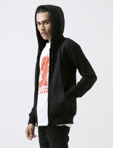 Black DGTMB Zipper Hoodie