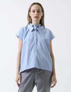 Blue Brigit Top