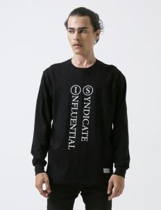 Black Basic Longsleeve T-Shirt