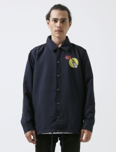 Navy Molotov Coach Jacket