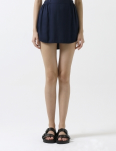 Navy Sri Lanka Mini Skirt