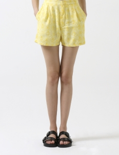 Yellow Roses Seoul Shorts