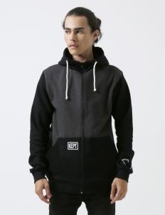 Black Gray Toned Warmer Jacket