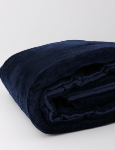 Bedcover In Midnight Blue