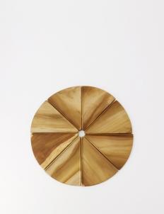 Wooden Pizza Plate - Full Set