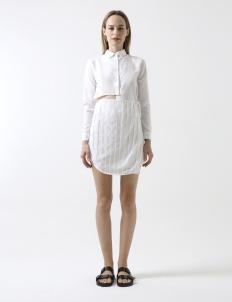 White Viola Dress