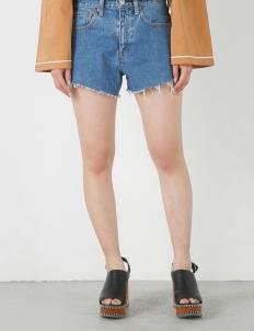 Blue Denim Short Pants
