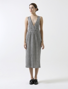 Eclipse Dice Overall Dress