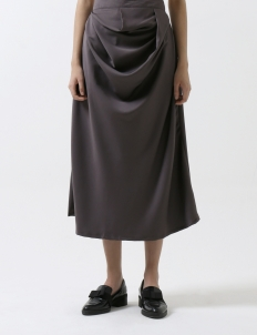 Gray Annaika Skirt
