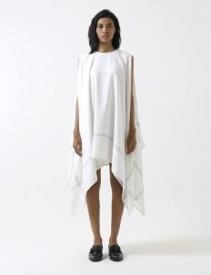White Handkerchief Dress