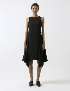 Black Handkerchief Dress