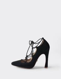 Black Amber Pumps