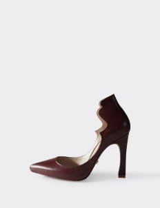 Maroon Astrid Pumps