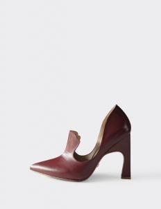 Maroon Aretha High Heels
