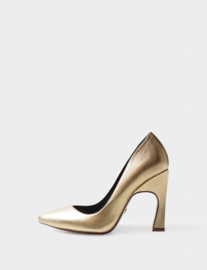 Gold Aveline Pumps