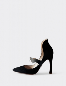 Black Aisha Pumps