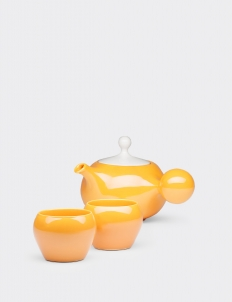 Orange Bulb Tea set (3 pcs)