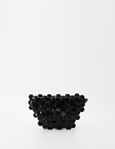 Black Machina Clutch Small