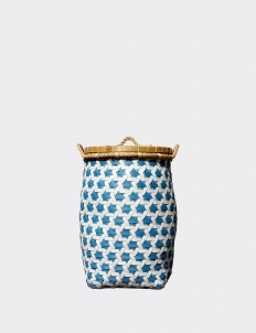 Blue Orlando Strap Truntum Laundry Basket