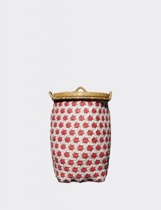 Pink Orlando Strap Truntum Laundry Basket