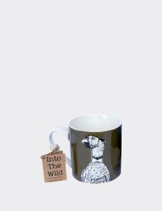 Brown Into the Wild Pheasant Mug