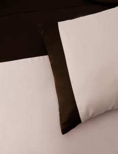 Dusty Pink & Chocolate 160 Bedding Set