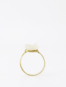 Clear & Gold Bocgo Bangle