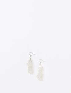Clear & Silver ELCSL Earrings