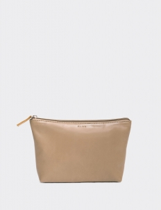 Taupe Trapeze Pouch