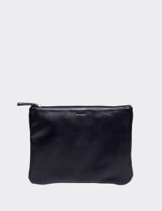 Black Medium Flat Pouch