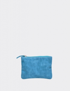 Blue Small Flat Pouch