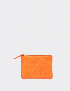 Tangerine Small Flat Pouch