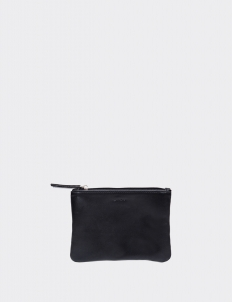 Black Small Flat Pouch