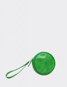 Green Round Wallet