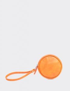 Tangerine Round Wallet