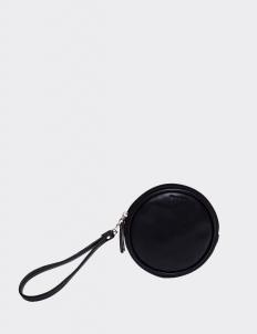 Black Round Wallet